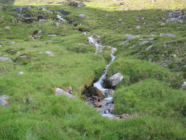 Allt an Glas near Coire nan Laogh