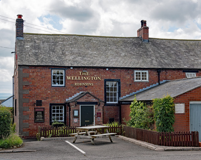 The Wellington, Great Orton - July 2017