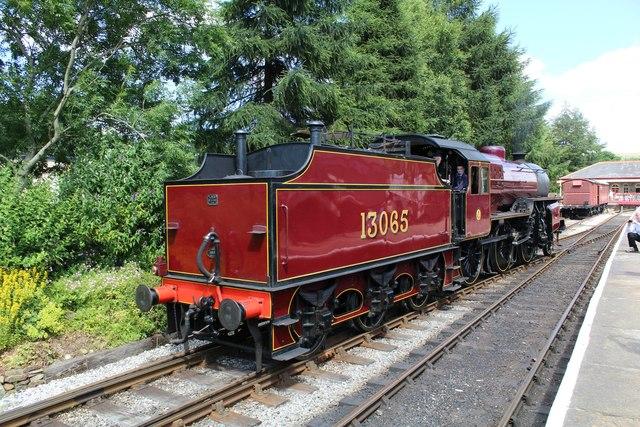 13065 Hughes Crab locomotive