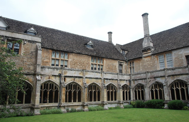 Cloisters, Lacock Abbey