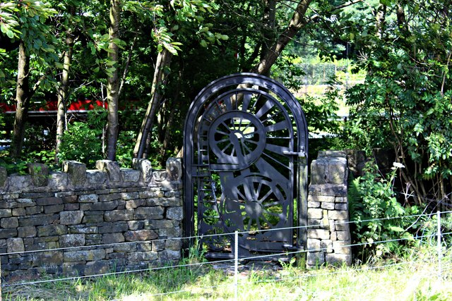 An unusual gate