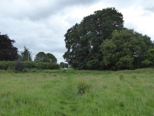 Footpath from Hilperton meeting Trowbridge Road