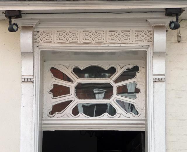 Detail of 24 Widemarsh Street, Hereford