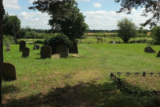 Churchyard, St Mary Magdalene church, Croome