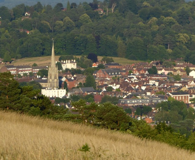 Dorking from Ranmore