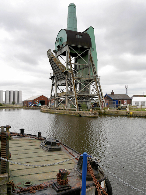Tom Pudding Hoist, Goole South Dock