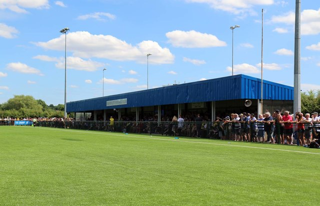 The main stand at the City Stadium