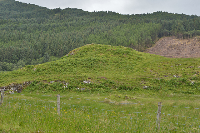Knoll west of Duntanachan