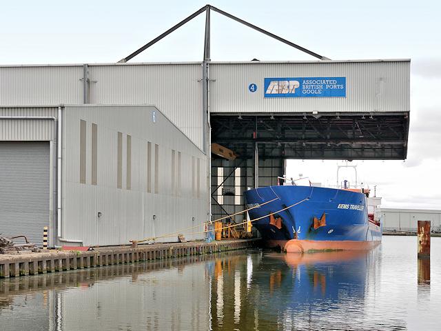 Steel Terminal, Goole Barge Dock