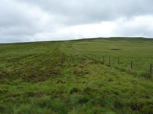 Up the hill towards Carreg y Bîg