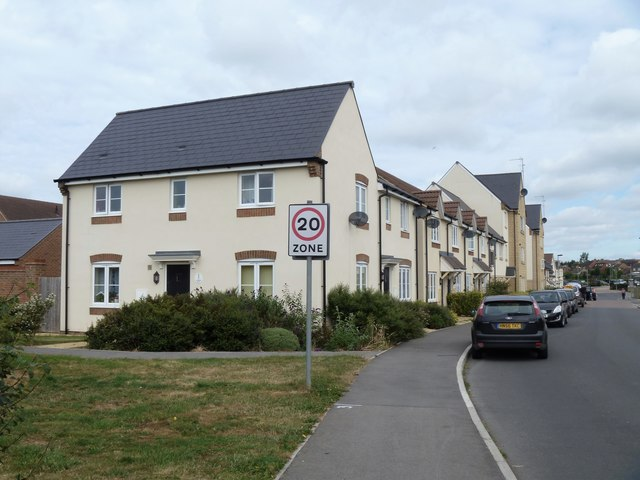 New houses on Cranesbill Road