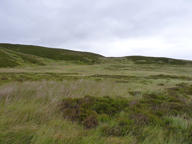 Moorland below Carreg y Bîg