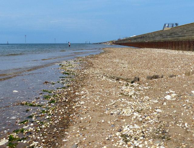 South promenade beach at Hunstanton
