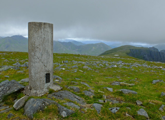 Summit of Beinn Fhada