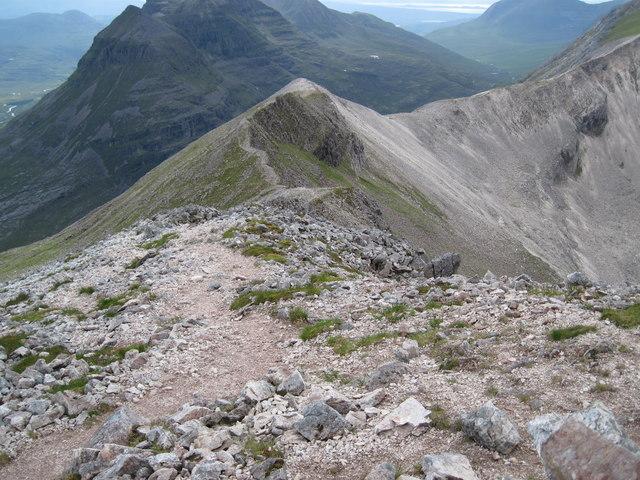 Spidean Coire nan Clach ridge