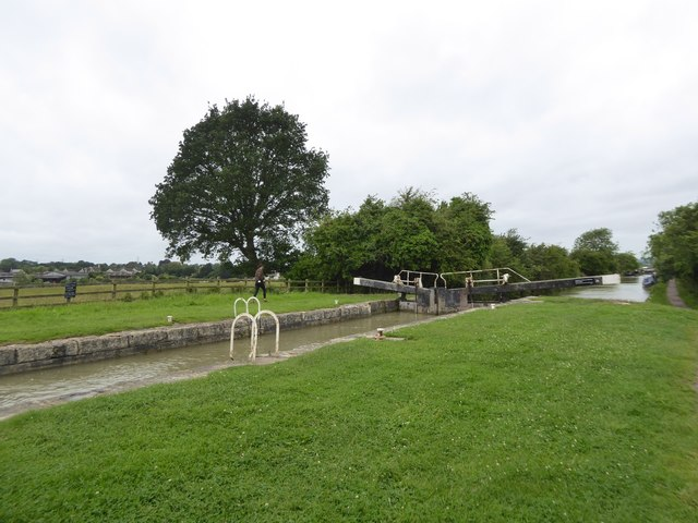Lock east of Semington