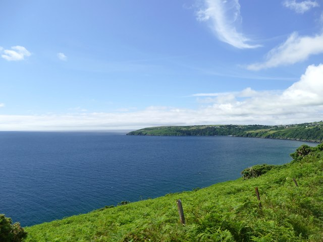 Above Laxey Bay