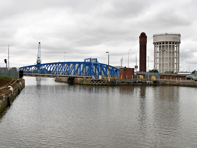 West Dock Bridge, Goole