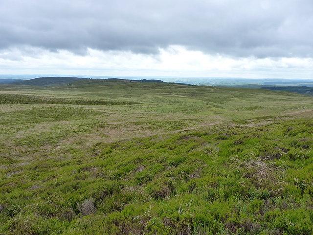 Towards Blaen Cownwy