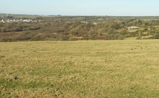 Countryside southeast of Camelford
