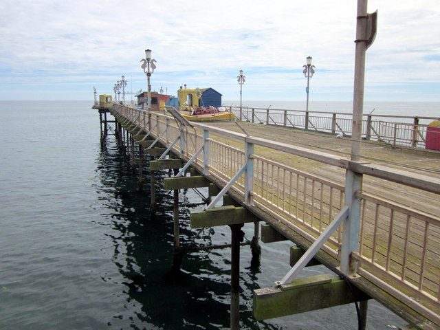 Closed Part of Teignmouth Pier