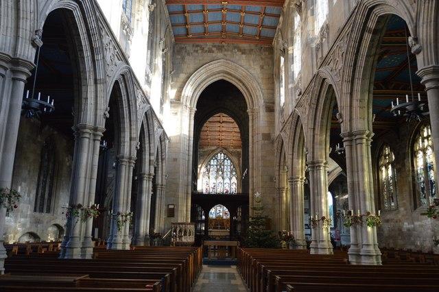 Church of St Mary - main aisle