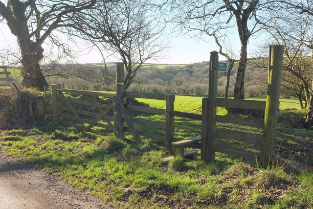 Stile on Camelford Way