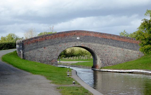 New Marton Bridge south of St Martin's, Shropshire