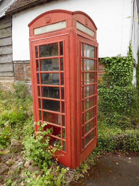 K6 Telephone Box in Kingston Blount
