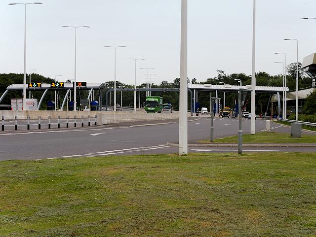 Humber Bridge Northern Toll Plaza