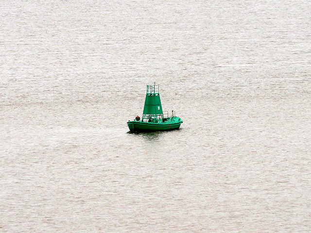 River Humber Starboard Light Float Number 27