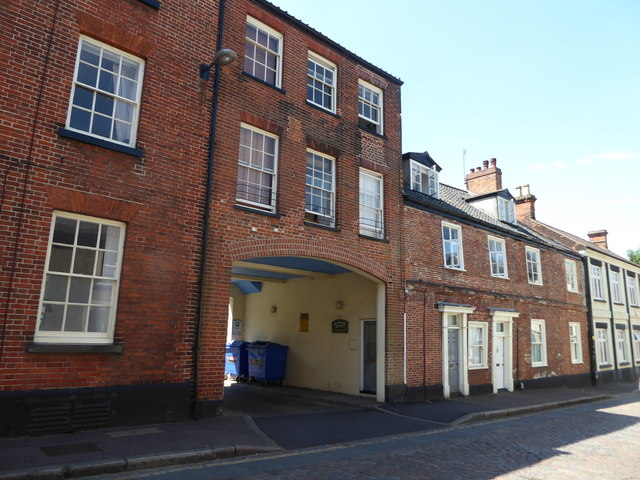 Buildings in Pottergate