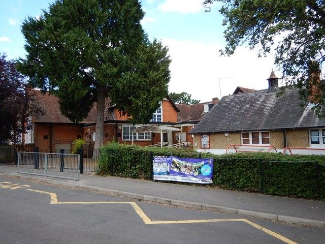 Bagshot Infant School in Chapel Lane