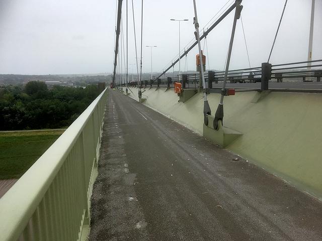 Humber Bridge Pedestrian Walkway
