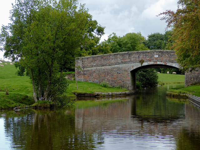 Paddock No 2 Bridge near Hindford in Shropshire