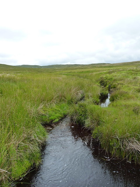 Headwaters of the Hirddu Fach