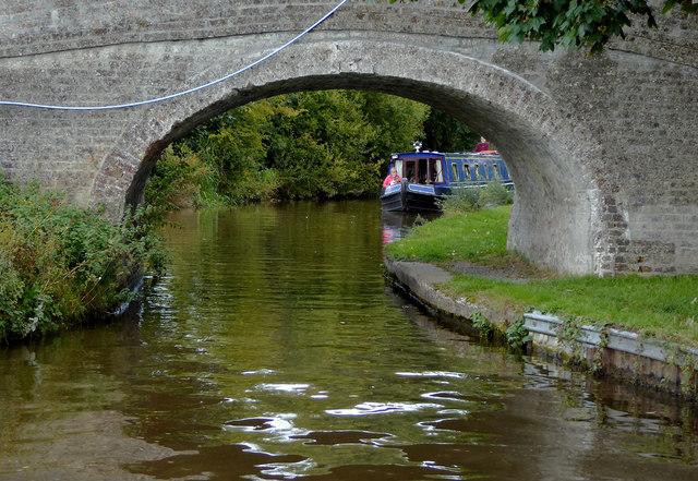 Paddock No 1 Bridge near Hindford in Shropshire