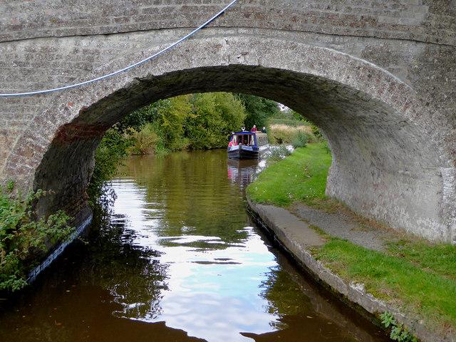 Llangollen Canal east of Hindford, Shropshire