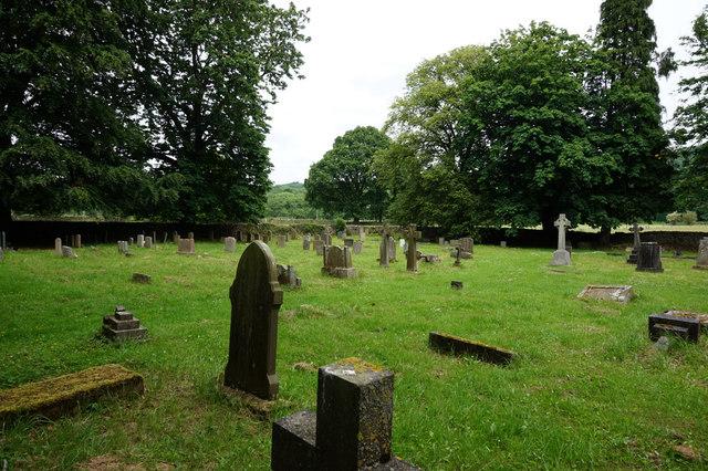 Graveyard, Holy Trinity Church, Dacre Banks