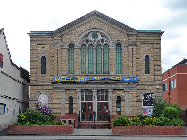 Baptist Chapel, Commercial Road, Hereford