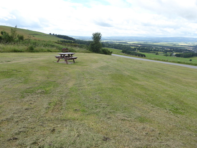 Picnic area, Hill of Garvock