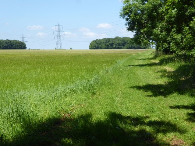 Headland bridleway
