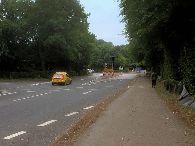 Vehicle Entrance to Humber Bridge Country Park