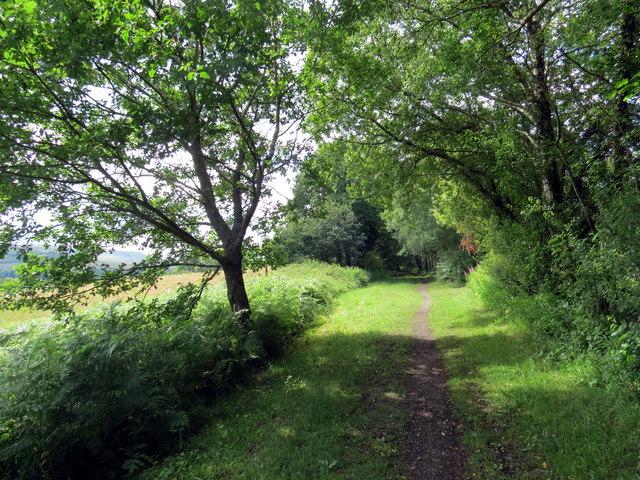 Hen reilffordd / Former railway