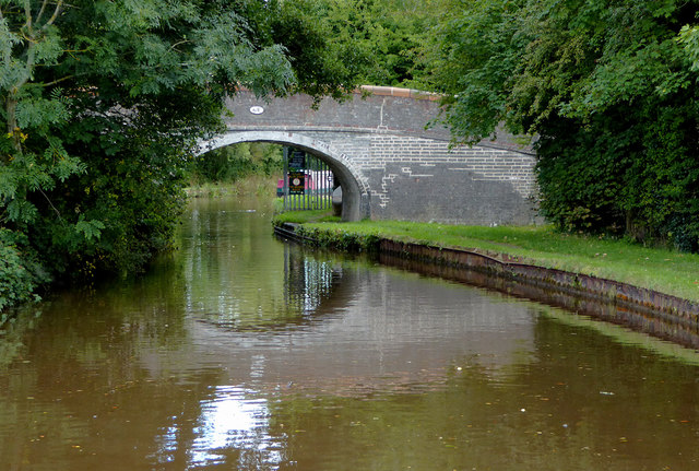Polletts Bridge east of Hindford in Shropshire