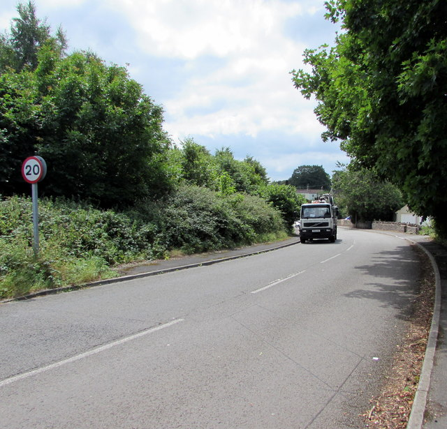 From 40 to 20 on Wotton Road, Iron Acton