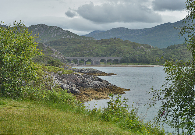 View to the head of Loch nan Uamh