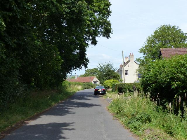Small side road at Rooks Bridge