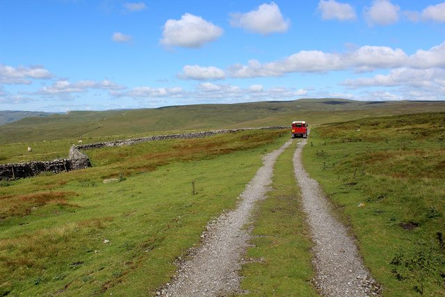 Track on Askrigg Common