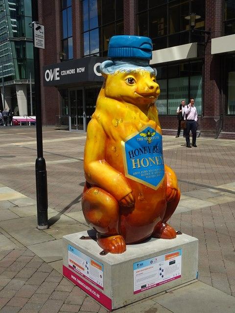'Honey Bear Honey Bottle'